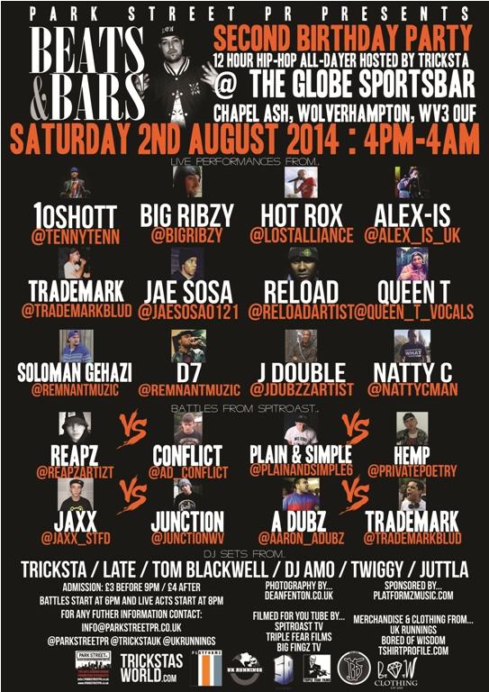 beats & bars poster 700
